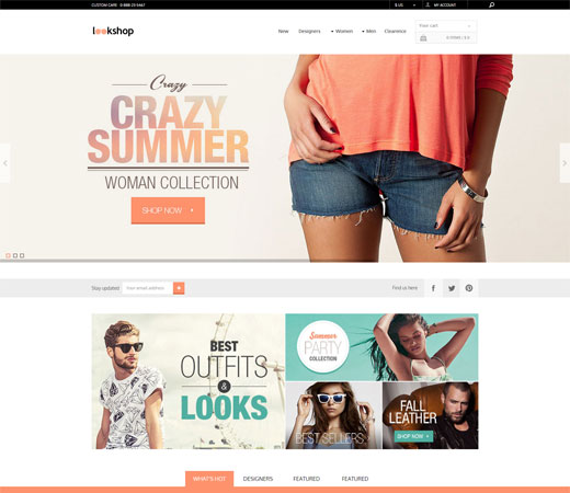 lookshop wordpress theme