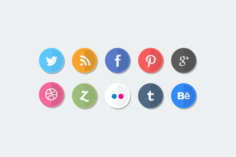 Best-Free-flat_social_media_icons