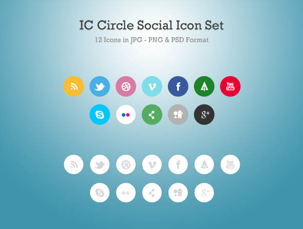 IC-Circle-Social-Icon-Set