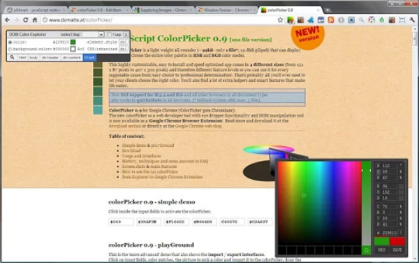 Best Color Picker chrome