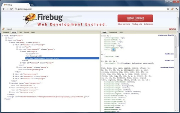 Best Firebug Lite for Google