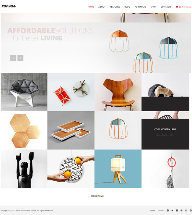 Best Interior Furniture Portfolio Theme