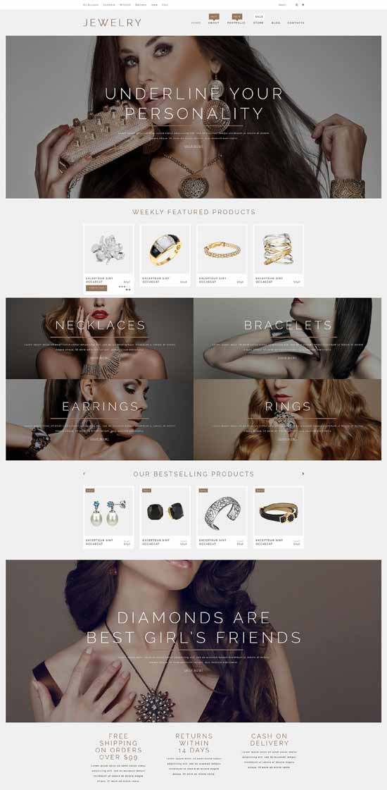 Best Jewelry Theme download