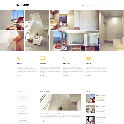 Best interior design wordpress theme 7
