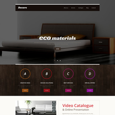 Best interior design wordpress theme 8