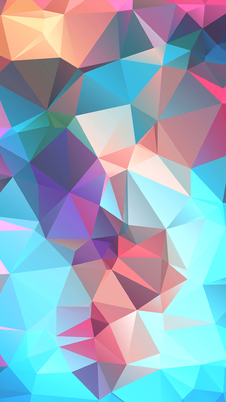 Colorfu-Polygon-iphone-6-HD-Wallpapers