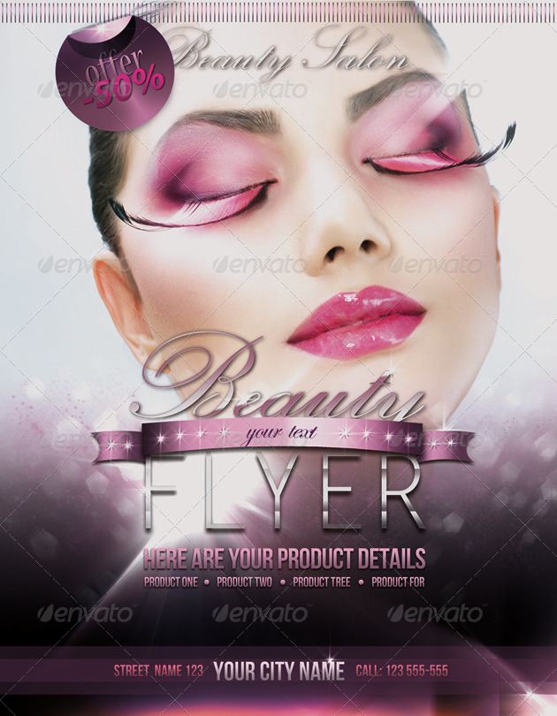 Fashion Beauty Flyer Template