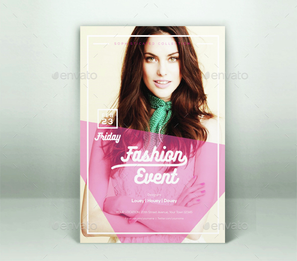 Fashion Event Flyer Template Download