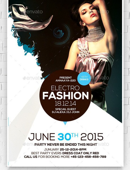 fashion flyers templates for free - 30 best fashion flyer templates
