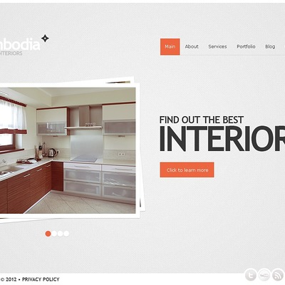 New interior wordpress theme