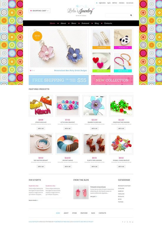 Wordpress Jewelry Themes