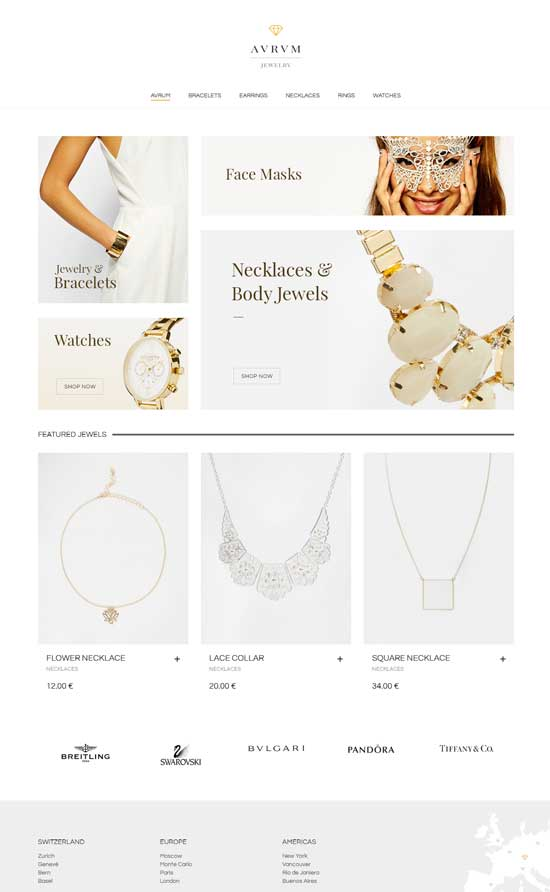 best Shopping Jewelry WordPress Theme download