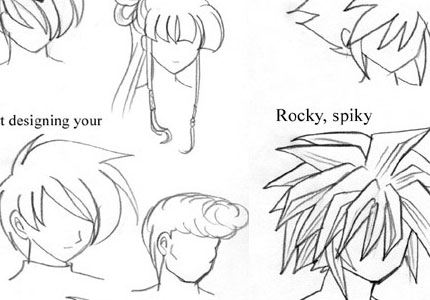 mayshinghair anime tutoria