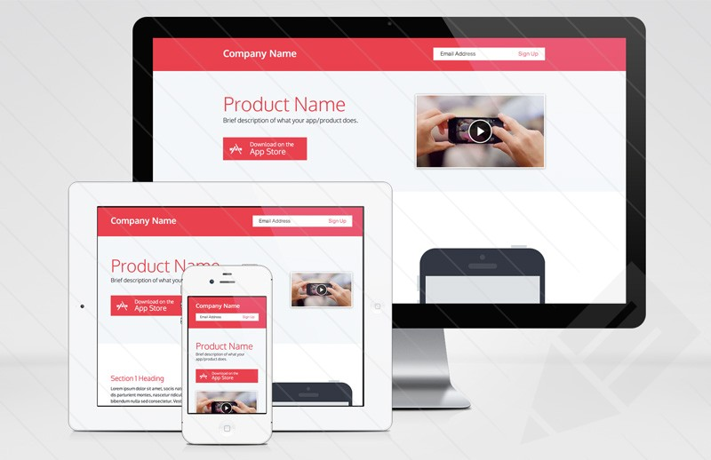 responsive product page dreamweaver template