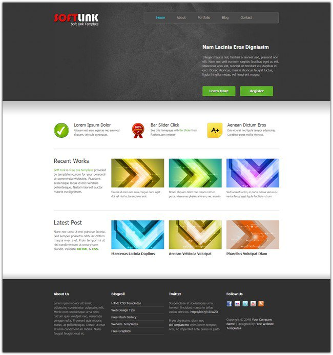 soft-link-dreamweaver-template