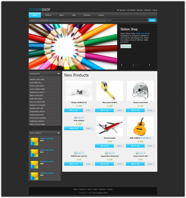 station-shop-dreamweaver-template