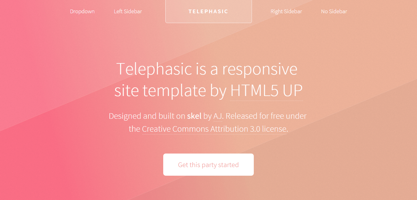telephasic-dreamweaver-template