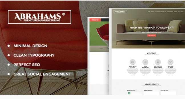 abrahams furniture theme