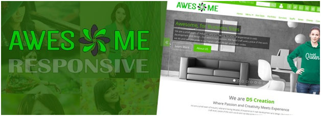awesome wp theme