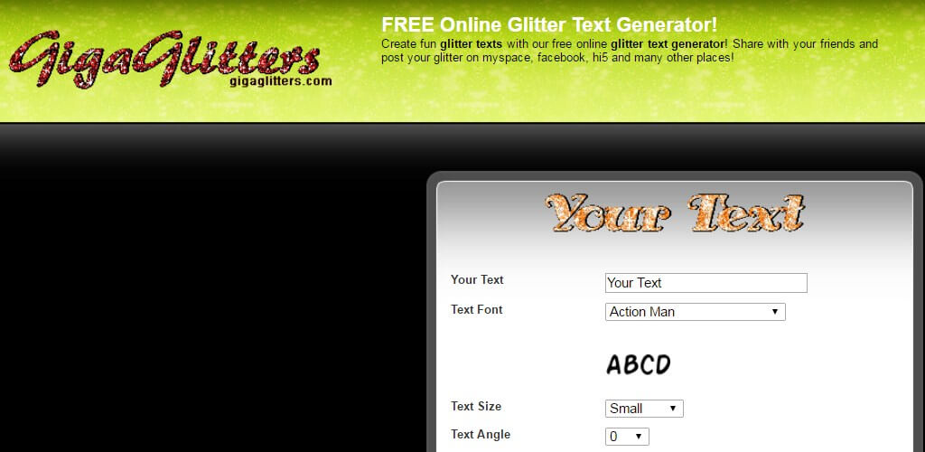 Giga Online Text Genrator