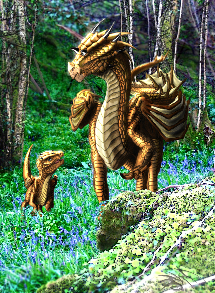 beautiful dragons