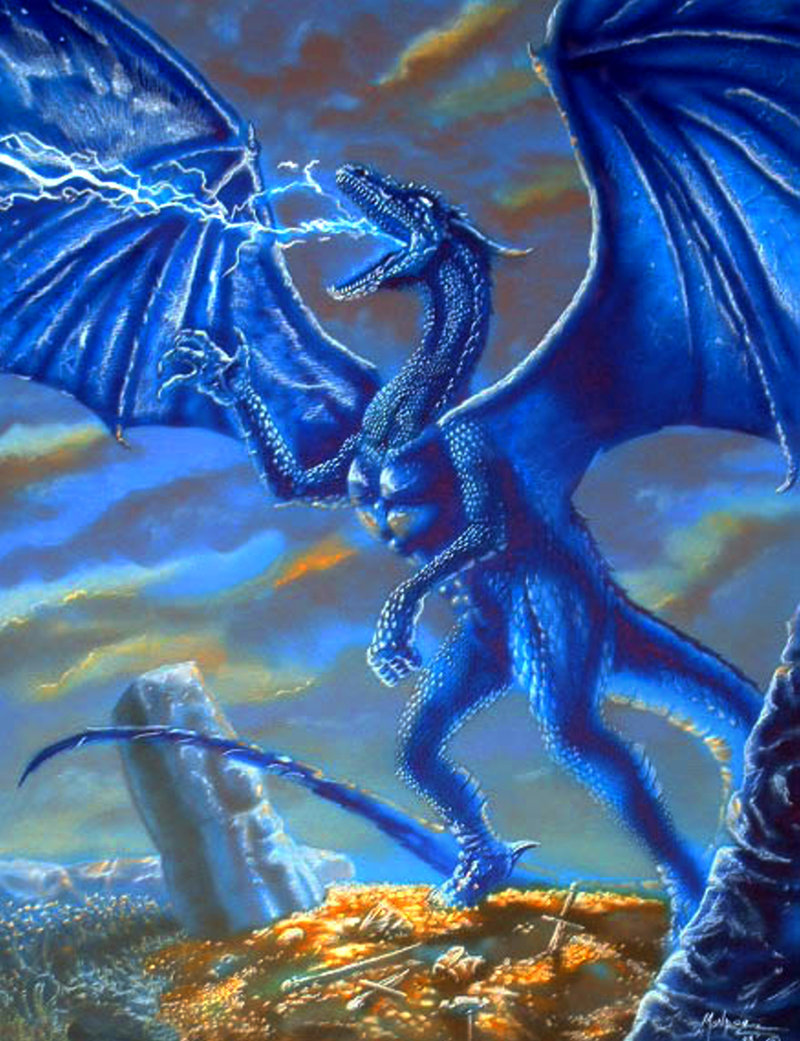blue dragon images