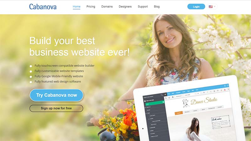 cabanova website builder