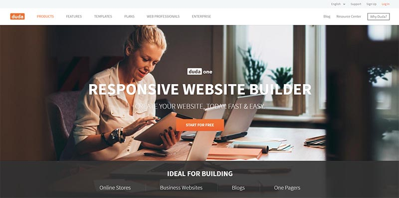 dudamobile website builder