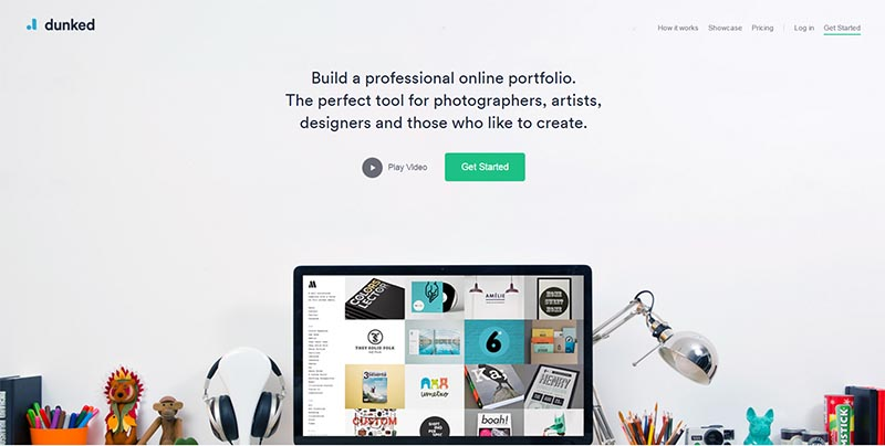 dunked free website creator