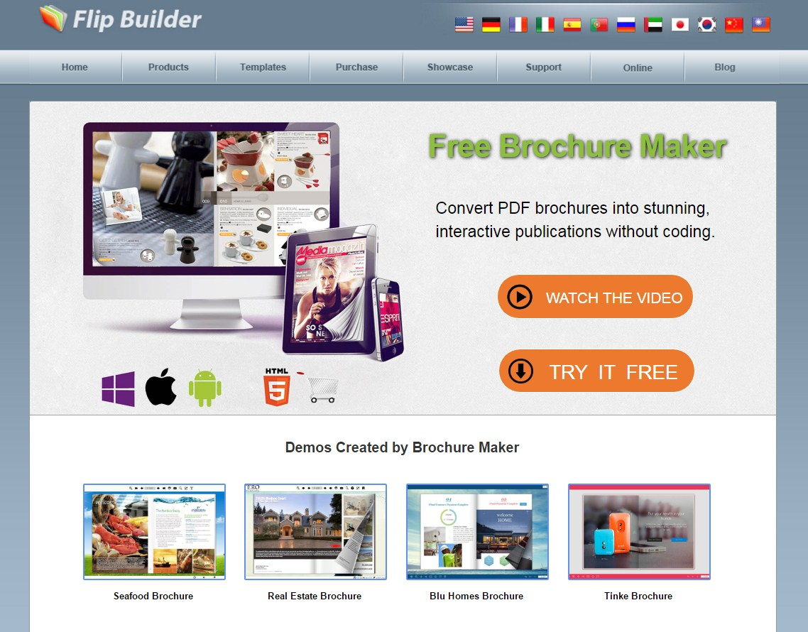 flipbuilder brochure maker