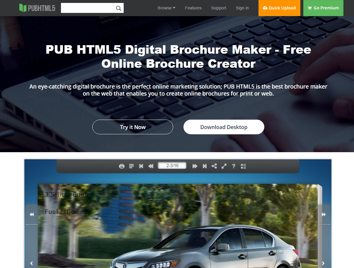 20 best free online brochure maker tools