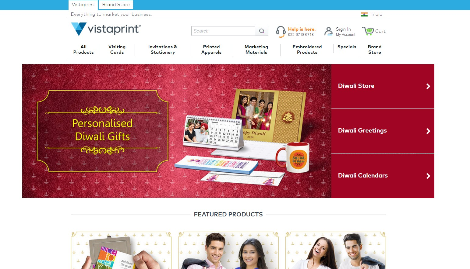 vistaprint brochure maker