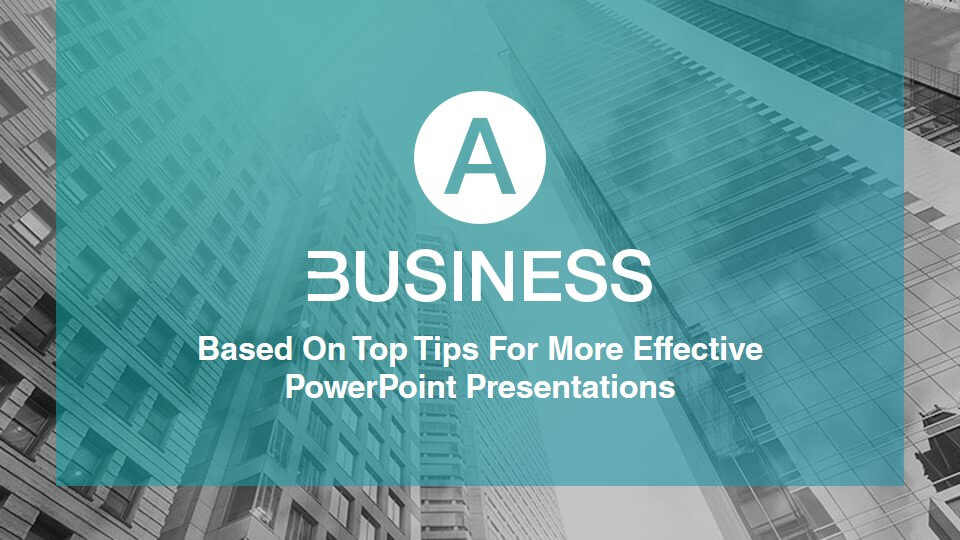 a business powerpoint template