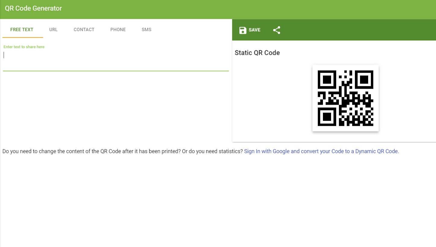 13 Best Free Online QR Code Generator