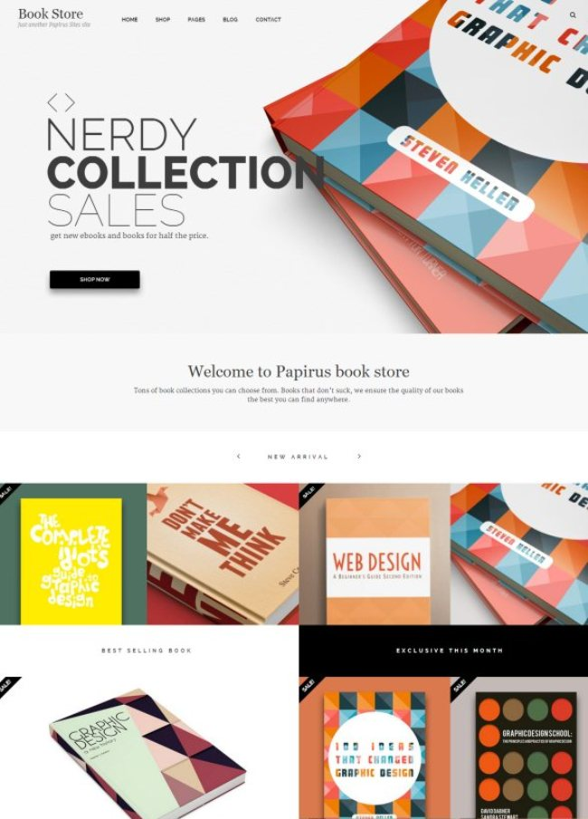 papirus ultimate woocommerce wp theme