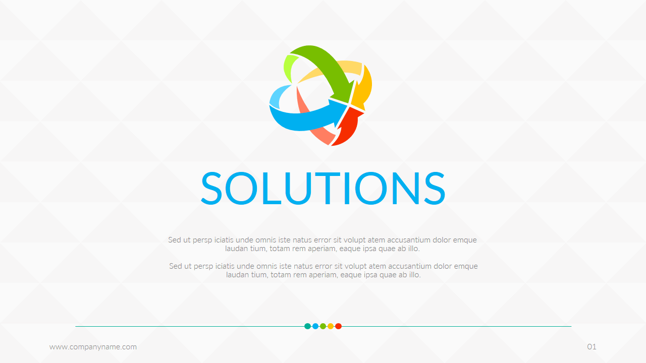business solutions power point templates