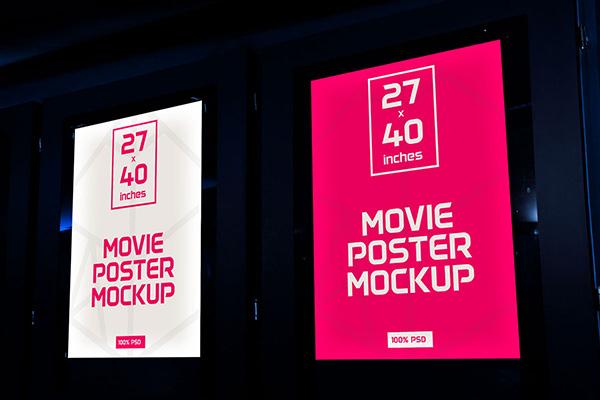 Films Poster Mockup