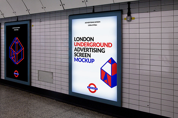 London Ads PSD Mockup