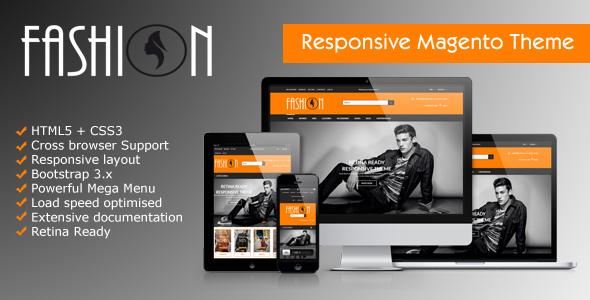 Beautiful Fashion Magento Theme