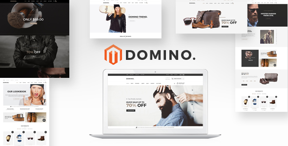 Domino Fashion Responsive Magento 2 Theme