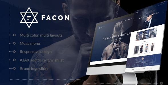 Facon Fashion Responsive Magento 2 Theme