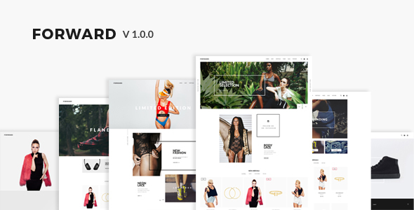 Forward Fashion Responsive Magento Theme