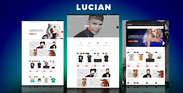 Lucian Responsive Magento 2 Theme