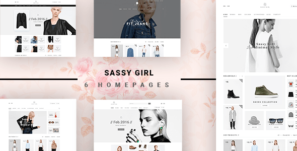 Sassy Girl Women Online Shop Theme for Magento 2