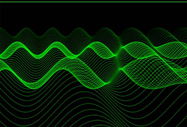 Green Lines HTML5 Animation