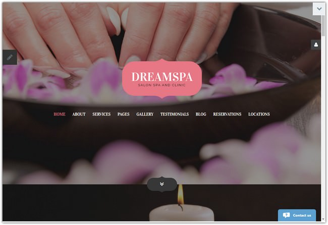 Best Beauty Parlour Joomla Template