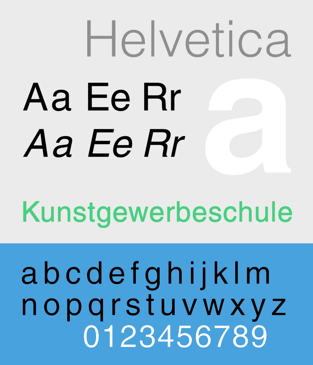 Helvetica Neue Font Family Free