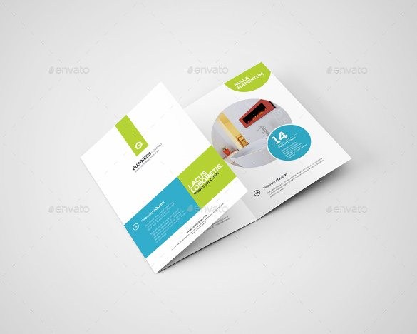 3xA4 Trifold A4 Paper PSD Mockup