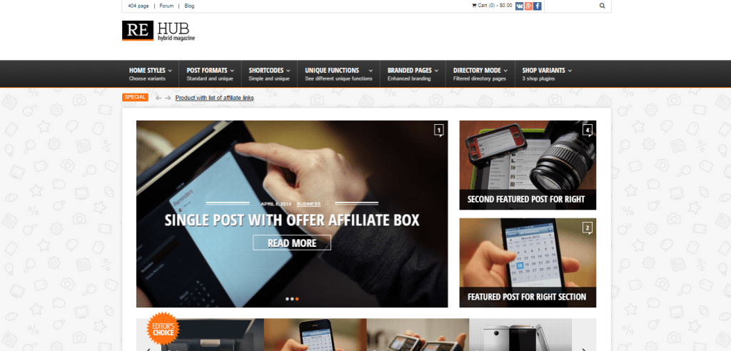 Affiliate Marketing WP Themes