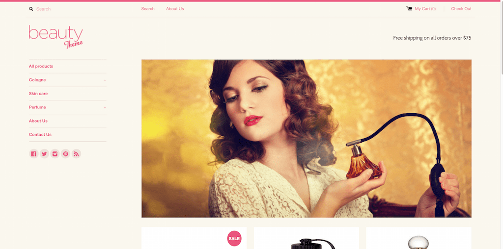 Beauty Responsive Shopify Theme